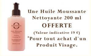 Offre huile moussante nettoyante 1